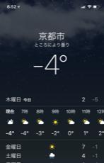 今朝-4℃ でもカラッカラッ!!